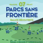 Rallye découverte organisé par notre projet #PNTHTerreEnAction ! Participez en famille ou entre amis et découvrezle 07/07 les parcs Scarpe-Escaut (France) et Plaines de l'Escaut (Belgique) munis de vos vélos 🚴♀️et d'un roadbook 🗺️. Infos & Inscriptions ➡️ https://t.co/7j1c42gGD5