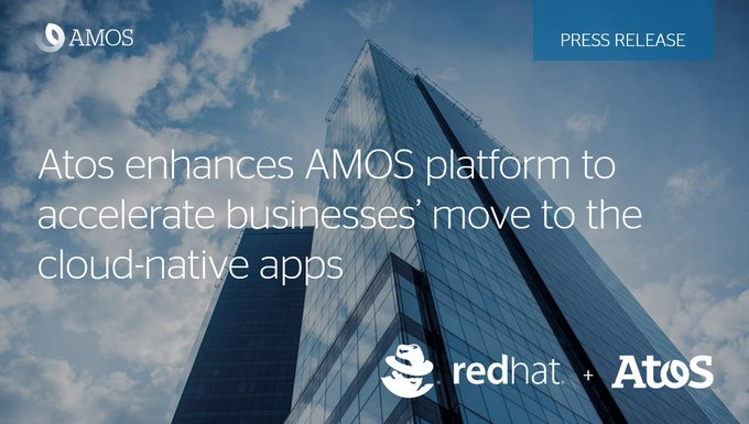 Atos today announced that the Atos Managed #OpenShift Service (AMOS) platform has been...