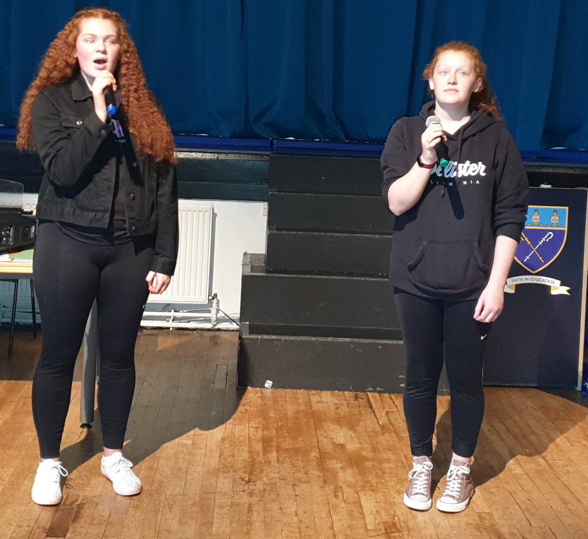Awesome Rehearsals for tomorrow's BGT #soexcited  #supertalentedstudents  #superproudteachers  🎶🎹💃🤼♀️🤸♀️🕺🎤🎺