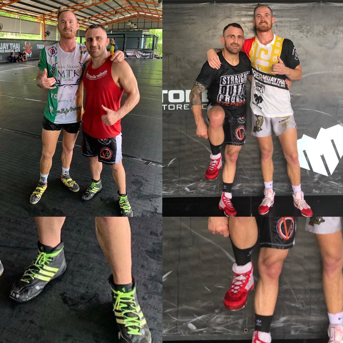 Apparently wearing high socks with wrestling shoes is an unwritten law 🤷♂️ what you think?