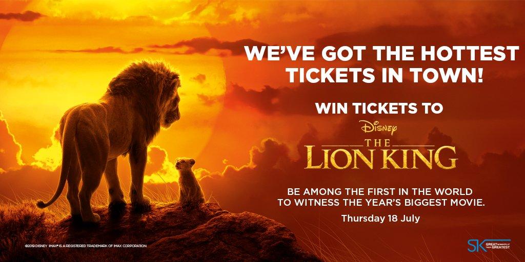 COMPETITION ALERT!  You could WIN the hottest tickets and be among the first on the planet to see the premiere of Disney's #TheLionKing   Answer the question correctly and these tickets could be yours!   True or False? Beyonce Knowles-Carter is the voice of Nala in the movie?<br>http://pic.twitter.com/5vZ8aUT8s2
