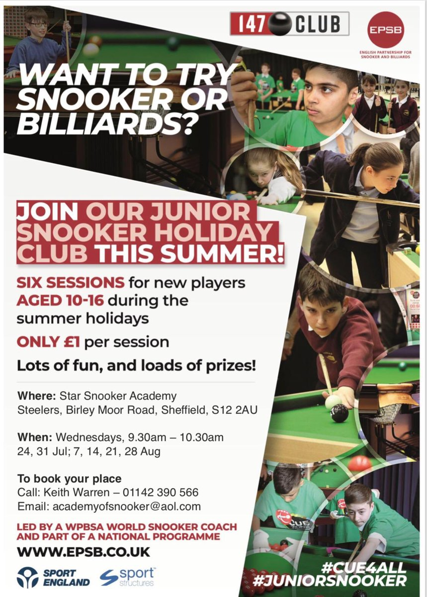 test Twitter Media - RT @stlrssportsbar: Spread the word and get in touch if you're interested 🎱   #SportsBar | #Snookers 🍻 https://t.co/tZqFzRedP0