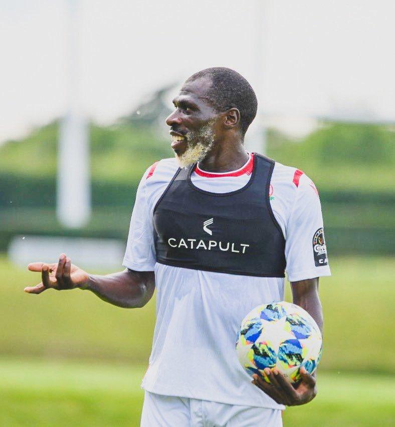 🇰🇪 Joash Onyango, 26 ans, qui sentraîne avec léquipe nationale du Kenya en Égypte #AFCON2019😂👏🏽