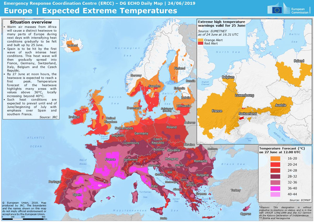 """Western Europe will face potentially """"deadly"""" heat wave this week"""