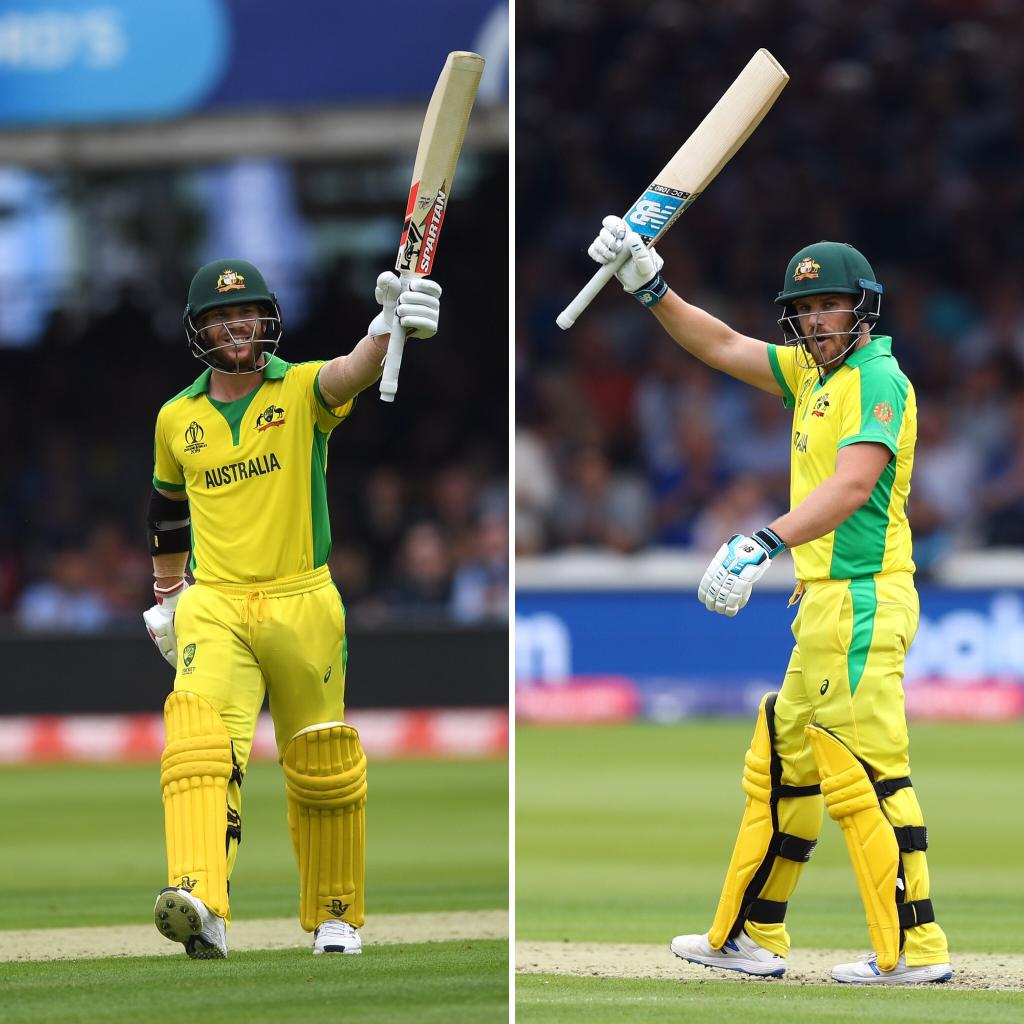 At the halfway stage of the Australia innings they are 138/1. Both openers passed fifty before Moeen Ali removed David Warner caught at backward point. #ENGvAUS | #CWC19