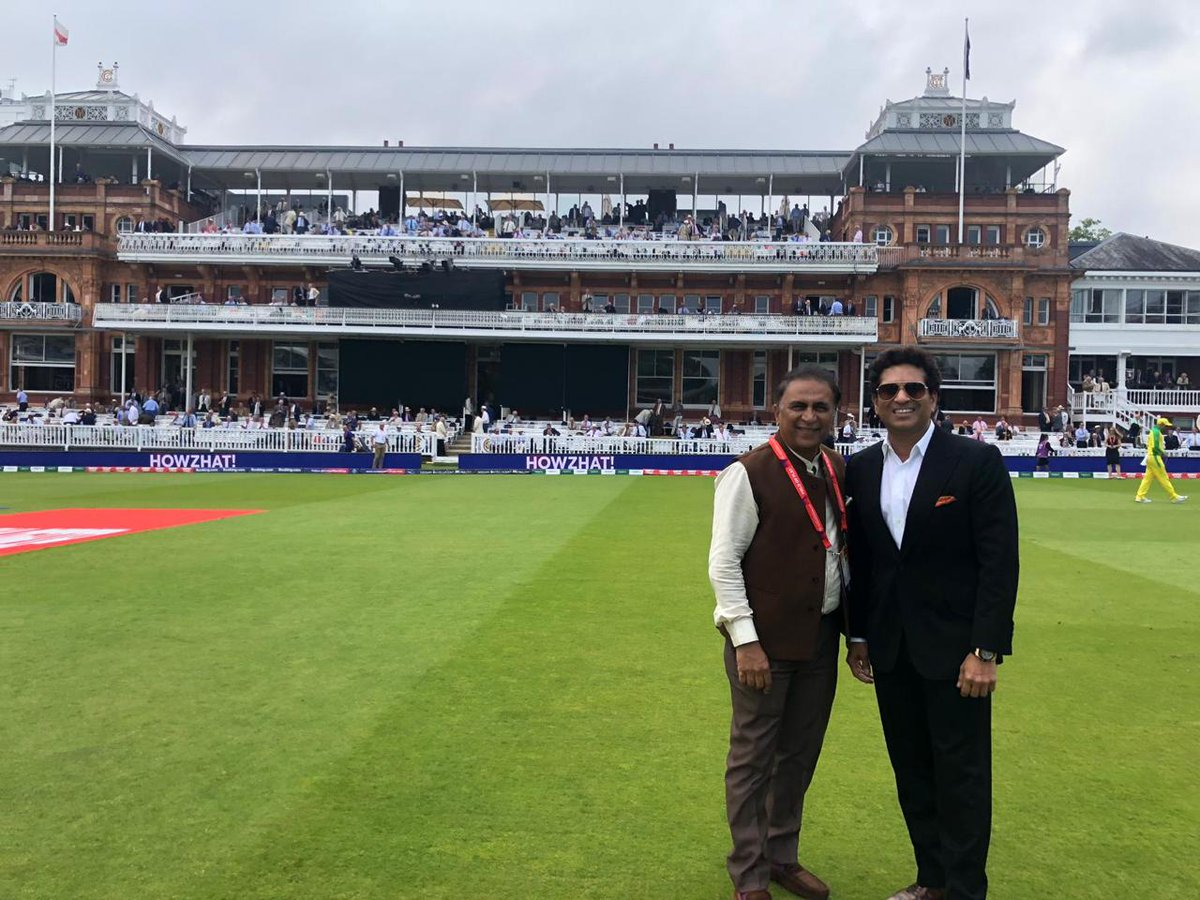 Feels good to be at a place where a dream started 36 years ago on this very day, at the very ground, with a person whom I emulated and considered my idol. #Nostalgia #1983WorldCup <br>http://pic.twitter.com/41zLZgelSZ