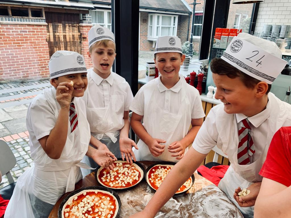 Potters Gate Primary On Twitter Year 6 Making Pizzas