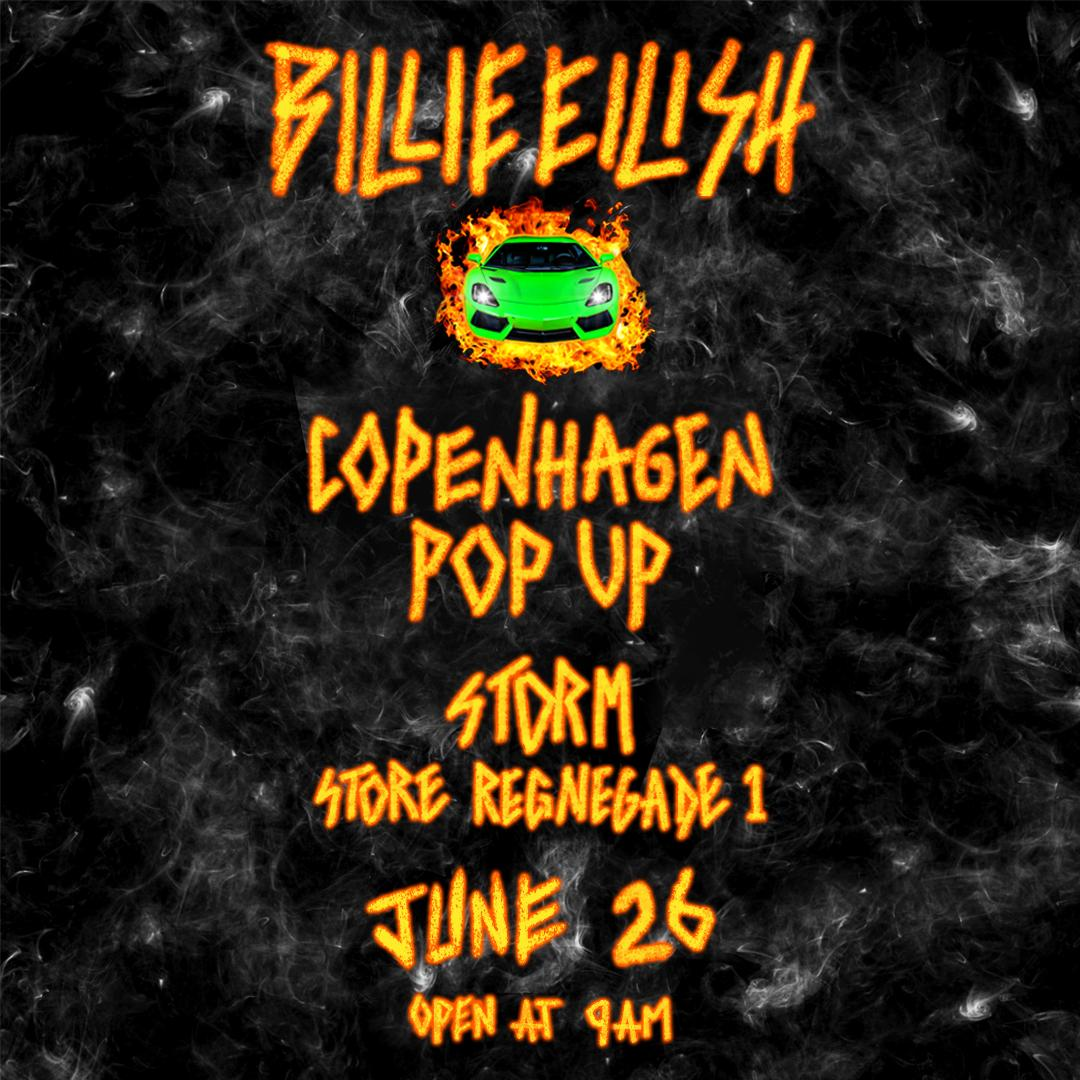 COPENHAGEN POP UP JUNE 26