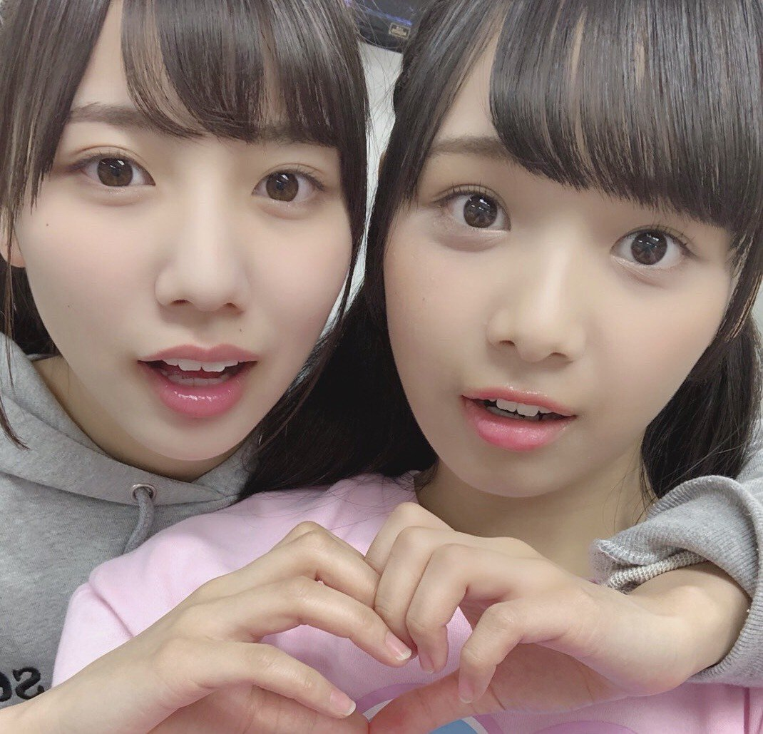— From Hina's blog 🐤💙 #日向坂46 #河田陽菜 + #濱岸ひより