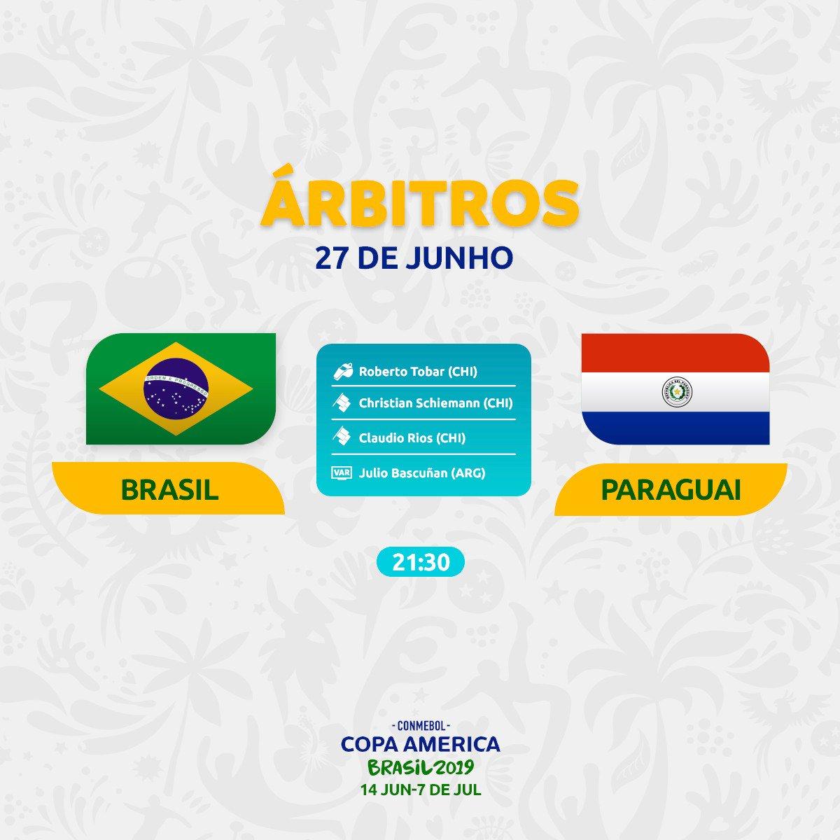 Copa América 2019: programación de árbitros para los duelos de ...