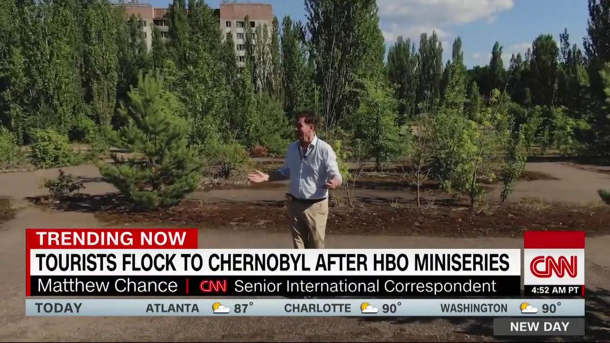 """Throngs of tourists are snapping selfies right next to Chernobyl, the site of the world's worst-ever nuclear disaster.  """"There are concerns the horrors portrayed so graphically in the HBO series...are being trivialized by Chernobyl's tourism boom,"""" @mchancecnn reports."""