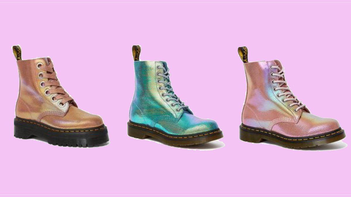 These mermaid Dr. Martens are all we need for festival season http://marieclai.re/vKbhuH