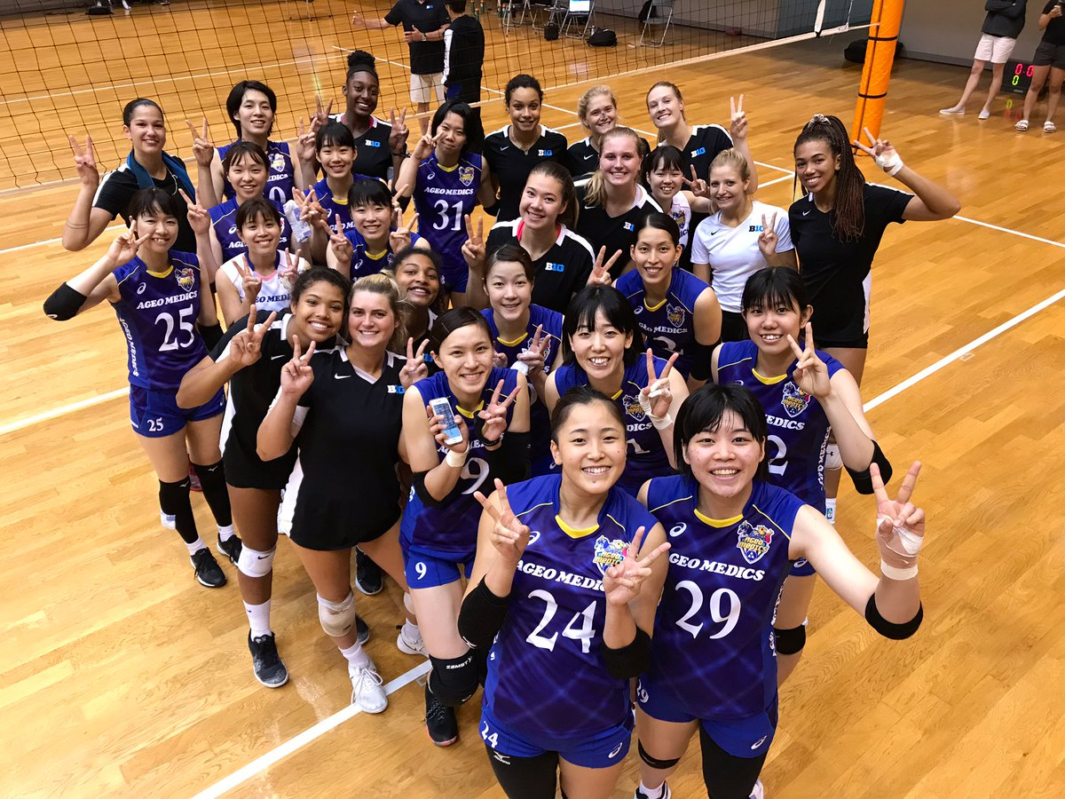 Thank you Ageo Medics for hosting the last #B1GinJapan match 🇯🇵🏐 #B1GVolleyball