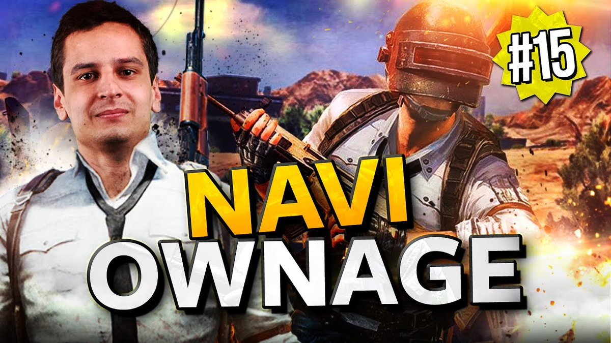 The new PUBG Ownage episode is LIVE. Some incredible shots and smart plays by our squad. 🙃  📽️: https://youtu.be/-LGI24OTZW8 #NAVINATION #PUBG