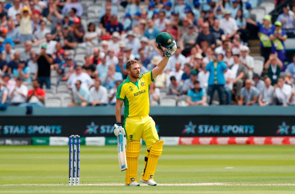 Australia finish with 285/7 After #AaronFinch reached his second hundred of #CWC19 England hit back well to limit their opponents at the death. Will this score be enough? Head to @cricketworldcup to follow the chase. #ENGvAUS