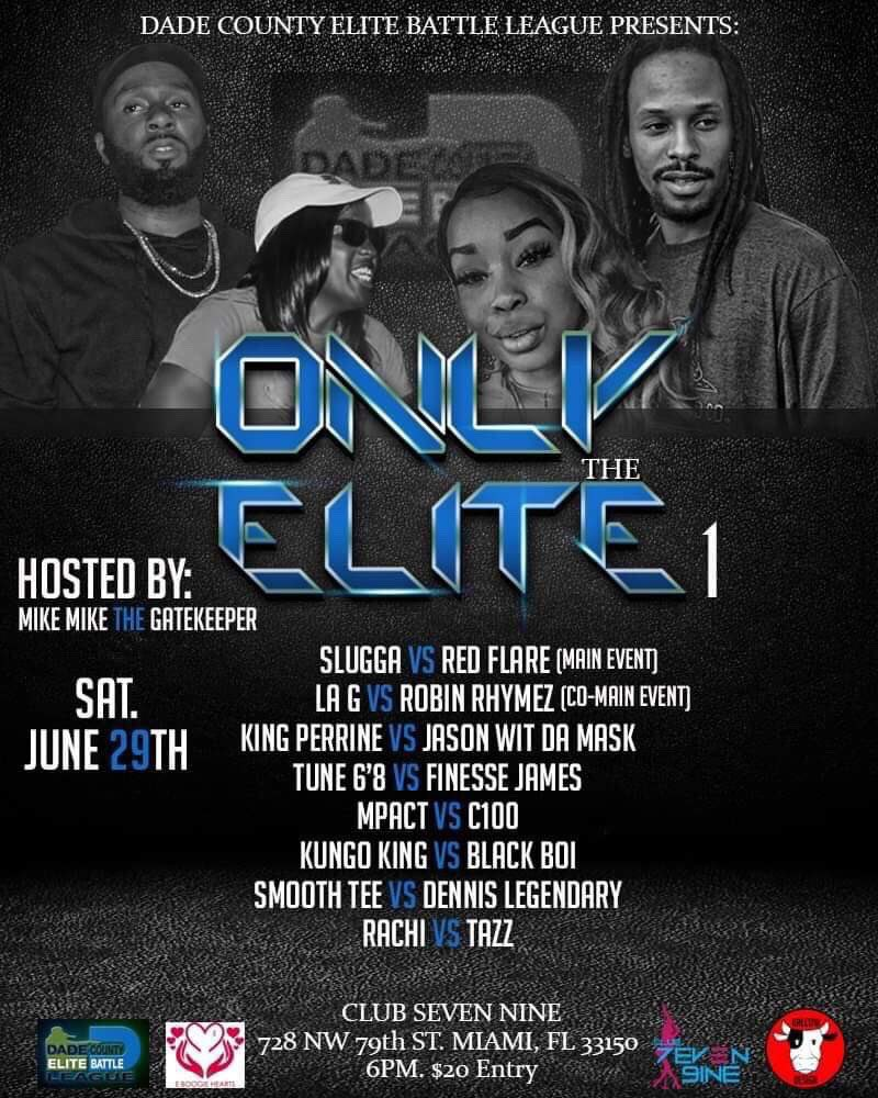 This #Saturday #saturdaynight #lyricalwarfare #Miami #battlerap #dcebl #305DCEBL @hiphopisrealtv @15MofeRadio @Beasleynyc @BrotherMob
