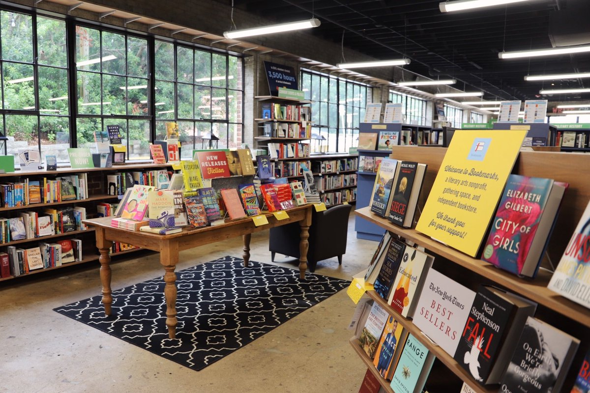 It's New Release Tuesday! Come see us for a book recommendation 📚 #BookmarksNC