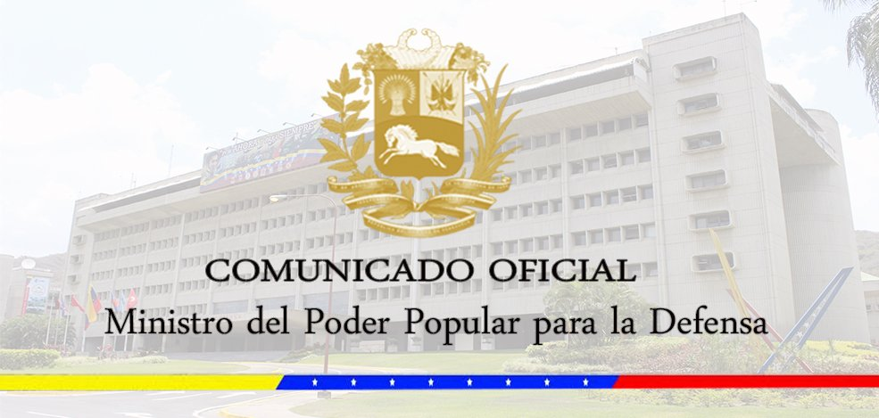 🗞️#EsNoticia|| Comunicado Oficial de la Fuerza Armada Nacional Bolivariana https://bit.ly/2X1fxkA