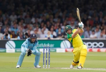 Finch 2nd #Australia captain to slam 2 tons in a World Cup edition after rickey Ponting#AaronFinch AaronFinch who had scored 153 against Sri Lanka on June 15, smashed a 116-ball 100 against England on Tuesday including two sixes and 11 fours. it was Finch's 15th ton in ODIs.