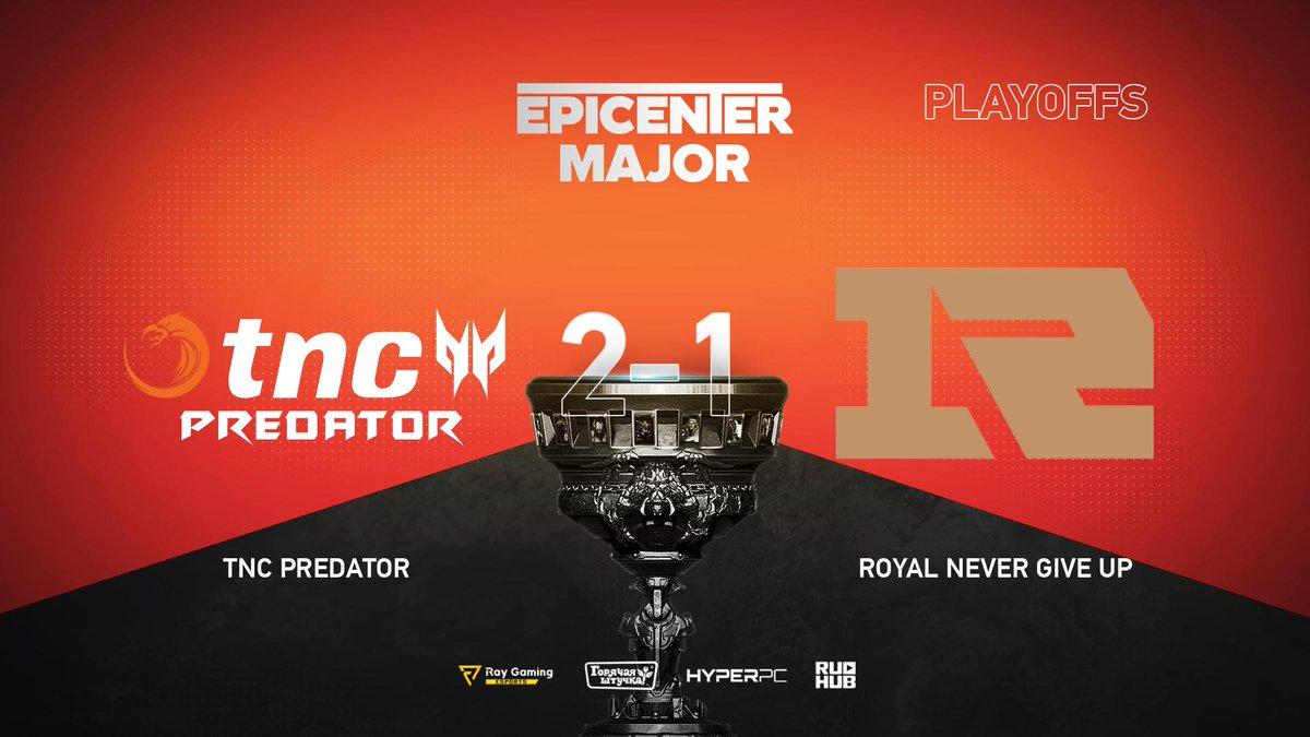 TNC Predator vs RNG EPICENTER Major 2019