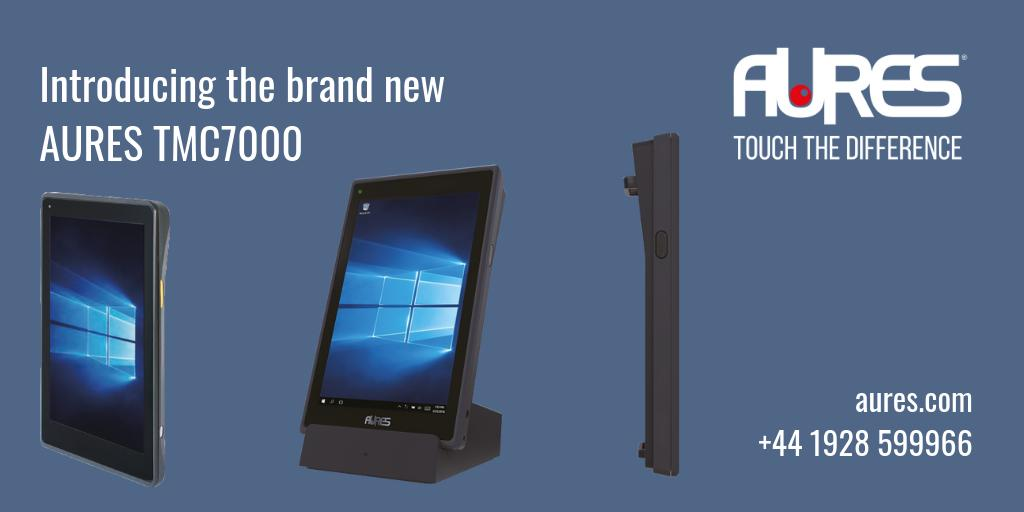 Looking for a perfect handheld #mobile #POS for your business? The search is over. Check out the brand new @AURES_UK TMC7000 https://buff.ly/2JNkBmK  #MPOS #mobility #tablet