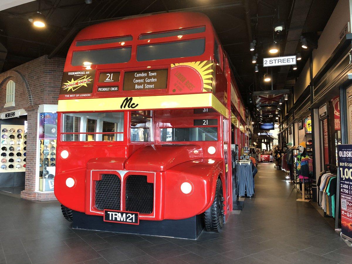 test ツイッターメディア - ロンドン交通博物館に行くより、バンコクのターミナル21へ行った方がロンドンへ行った感が出るゾ https://t.co/2sfY6F4iQC