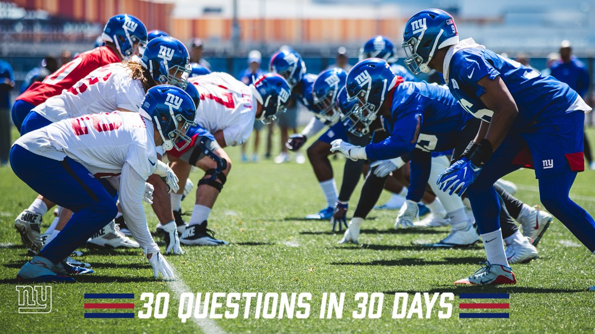 30 Questions in 30 Days rolls on.  Today's question: Who is a sleeper to watch this season?  Read → https://bit.ly/2X7jRnp