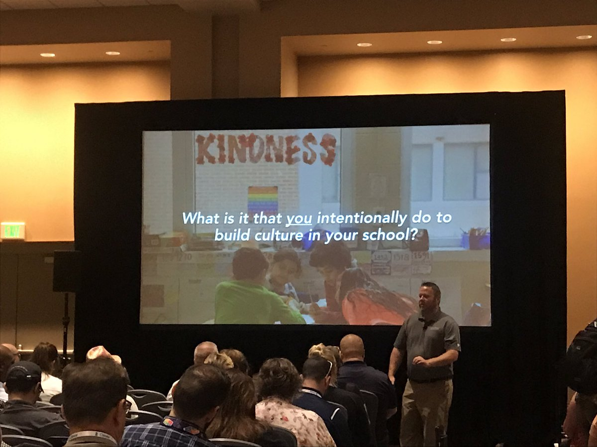What do YOU do to build your culture every single day?? #ISTE19