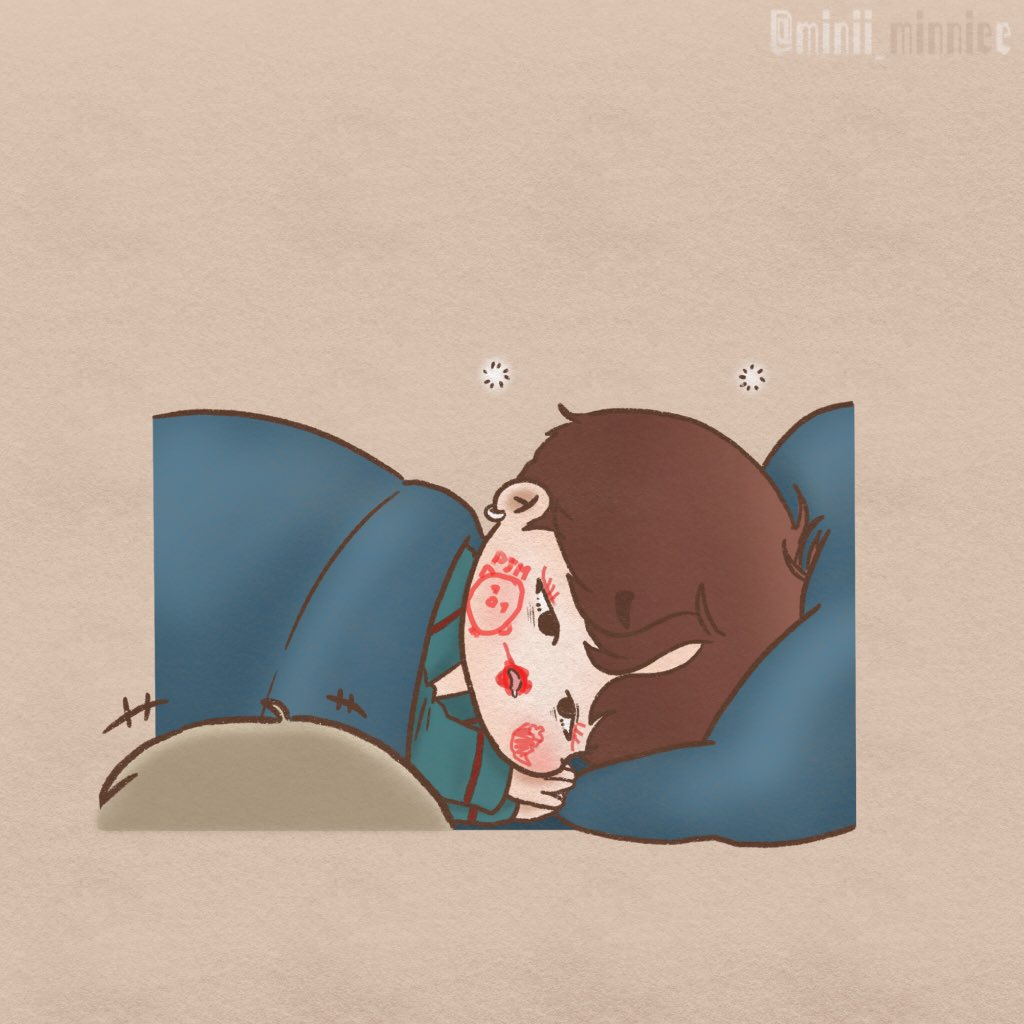 🖍🖍💢起床啦啦啦啦 #yoonmin