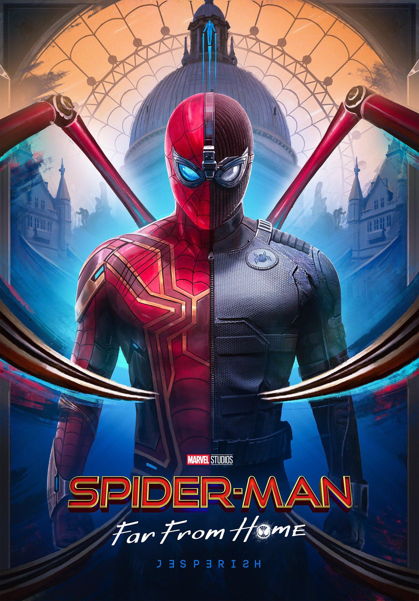 ผลการค้นหารูปภาพสำหรับ spiderman far from home
