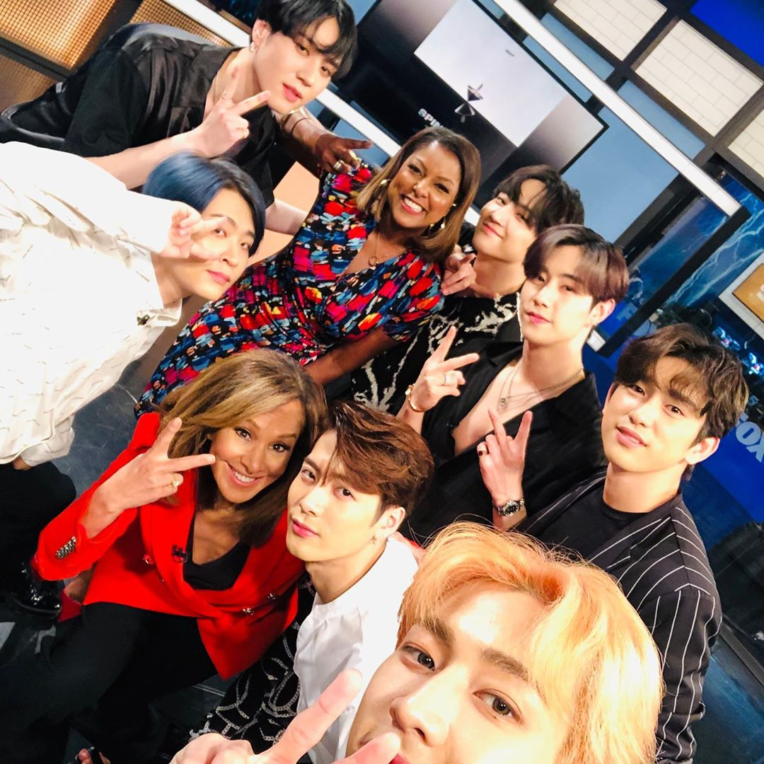 "190625 GOT7 at Good Day New York recording from Rosanna Scotto's Instagram    ""The guys are back ! @.got7.with.igot7 Check out the interview Thursday at 9 #gdny @.fox5ny""  #JB #제이비 #Jaebeom #재범  #GOT7  #갓세븐  @GOT7Official<br>http://pic.twitter.com/jfAAunt4A8"