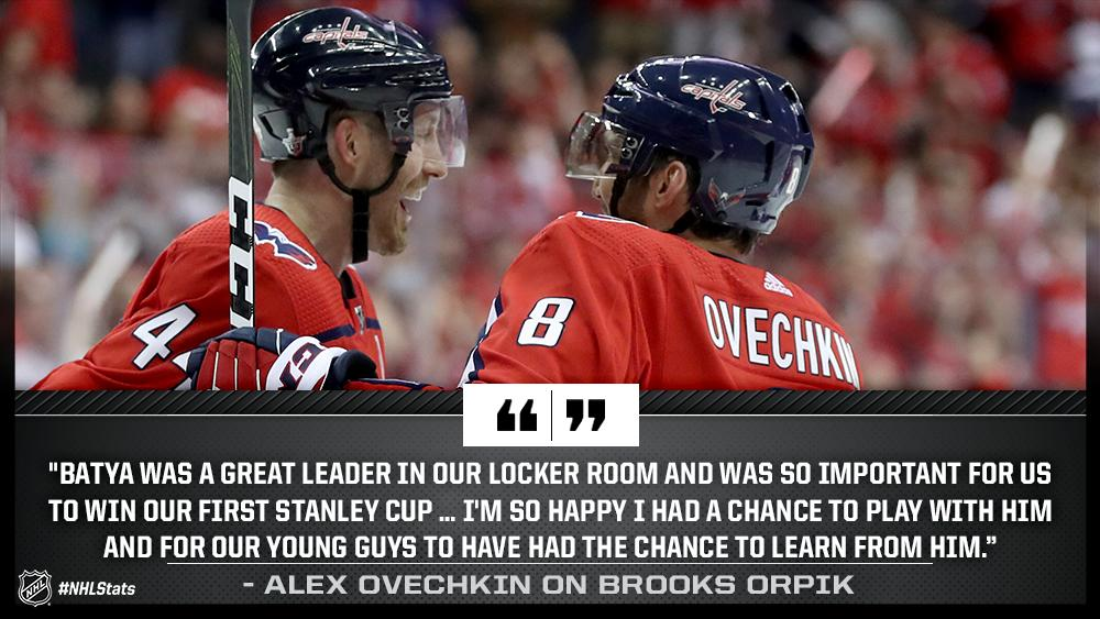 Two-time #StanleyCup champion Brooks Orpik has announced his retirement after 15 NHL seasons. atnhl.com/2LhNATB