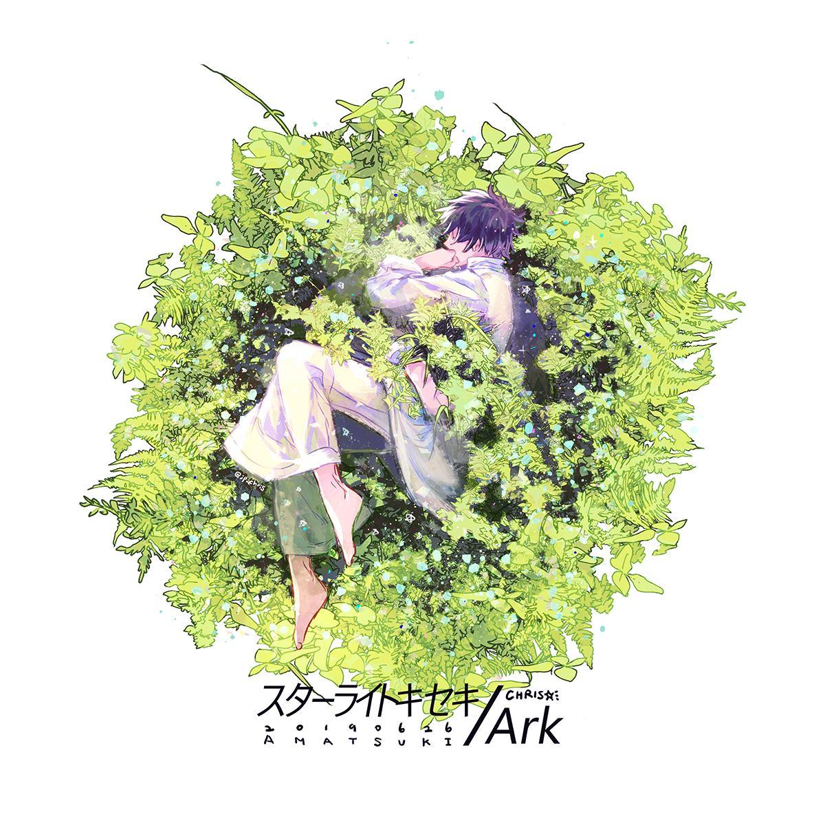 ㊗️天月さんのニューシングル『スターライトキセキ/Ark』発売おめでとうございます!引き続きジャケットイラストを担当させていただきました。よろしくお願いいたします🥳 ■ 特設サイト