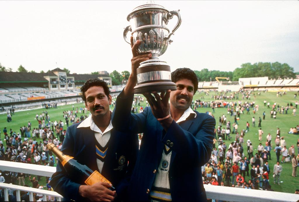 #OnThisDay in 1983, India claimed their first @cricketworldcup title 🏆 Could they add another trophy to the cabinet at #CWC19? #TeamIndia