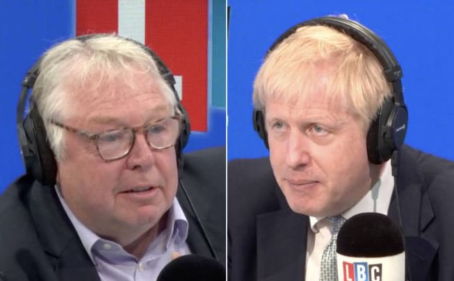 Boris Johnson finally appeared on @LBC this morning, speaking to @NickFerrariLBC at breakfast. @eddiemair asks: Did it change your view of Mr Johnson?