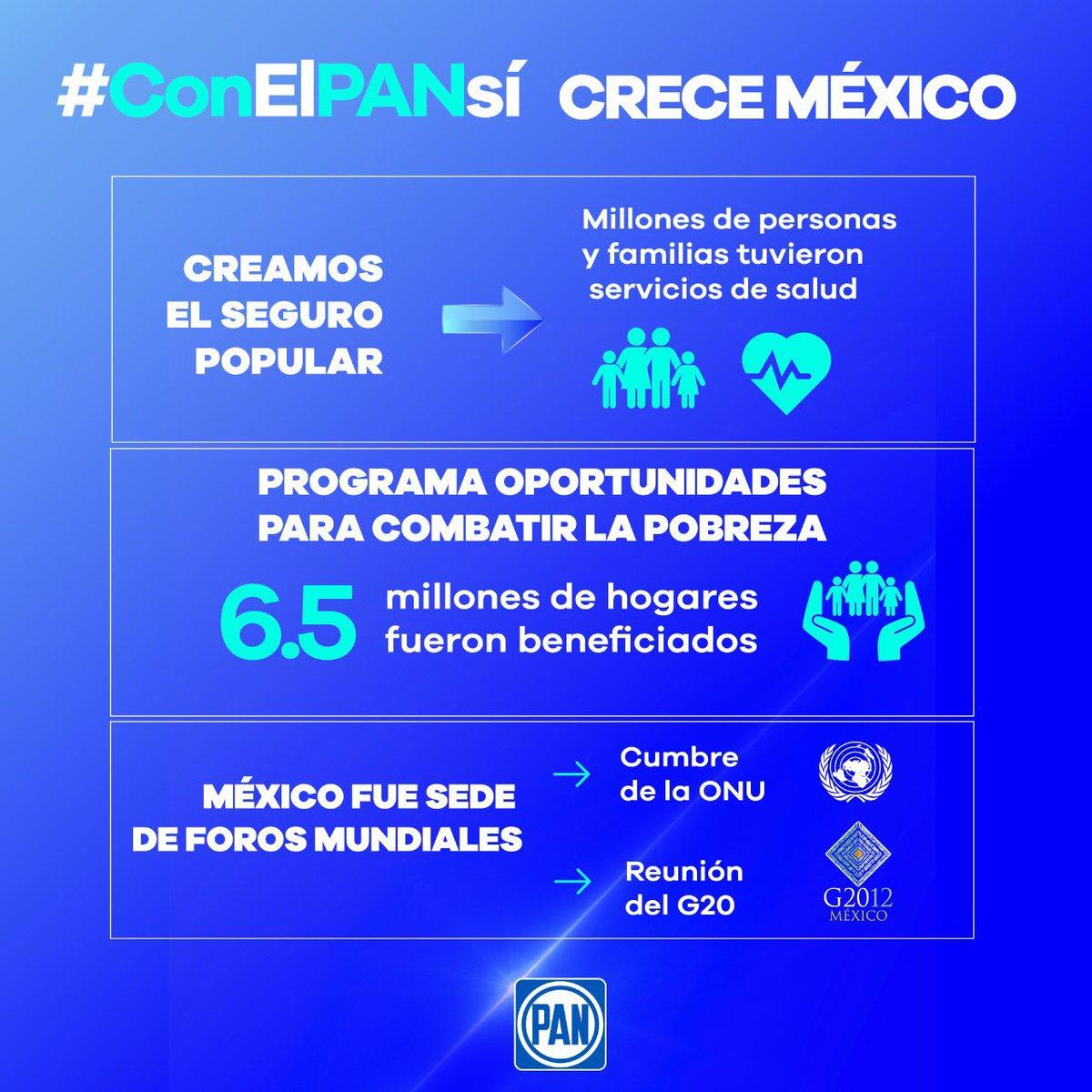 A 80 años de nuestra fundación, @AccionNacional ha demostrado que es la alternativa en México y el principal contrapeso de poder frente al Gobierno autoritario y regresivo de Morena. #ConELPANsí #80AñosDelPAN