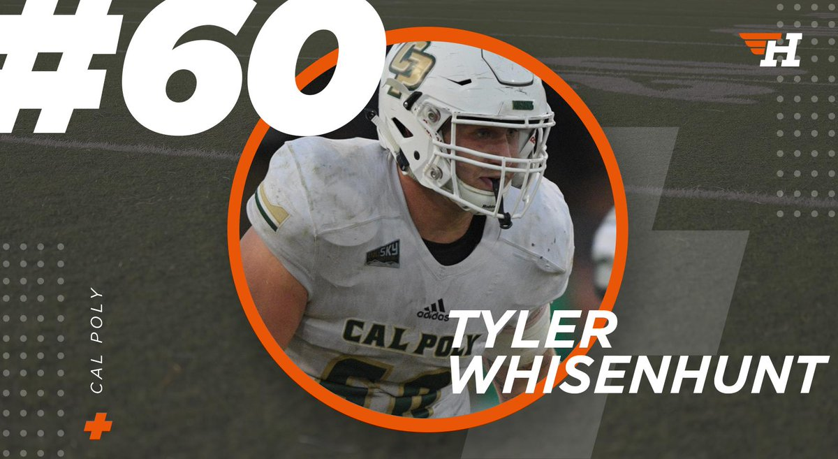 2019 #FCS Kickoff Countdown: 60 Days, The Best Player Who Wears No. 60 Is @calpolyfootballs @twhisenhunt67 Heres why: herosports.com/fcs/football-2…