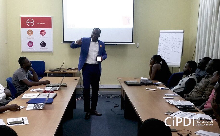 ITIL V4 Training for staff of Barclays Bank. #CiPD | Strictly Professional