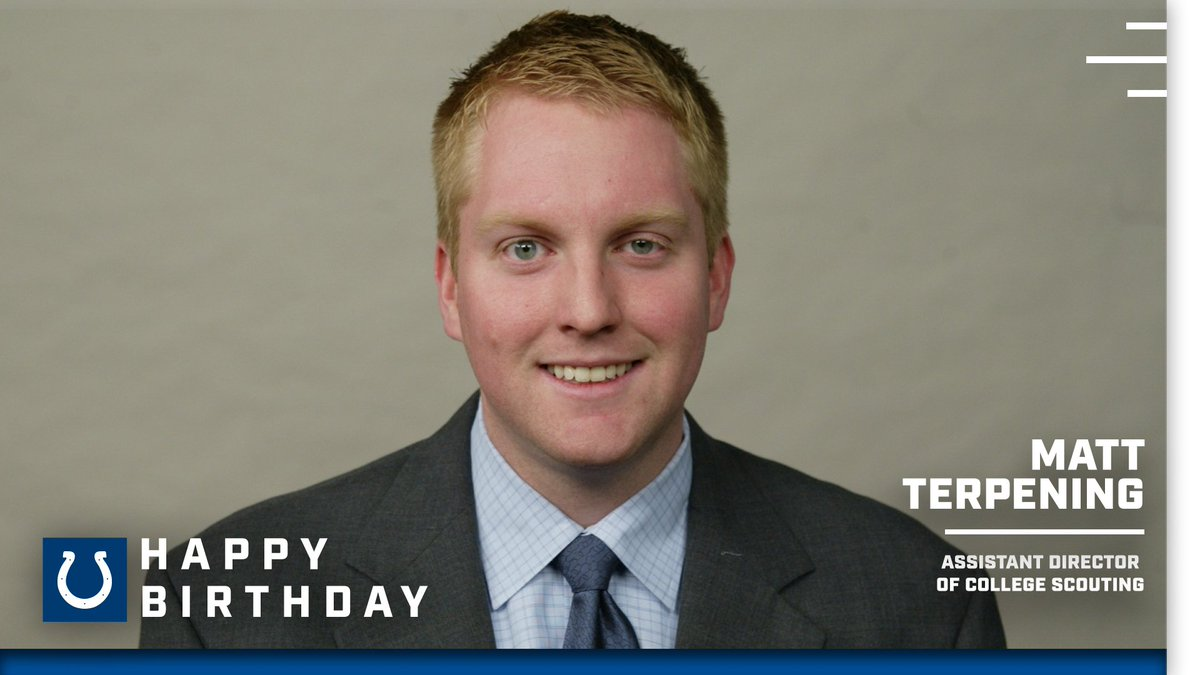 It's a big birthday week in the front office.  HBD Terp! 🎉