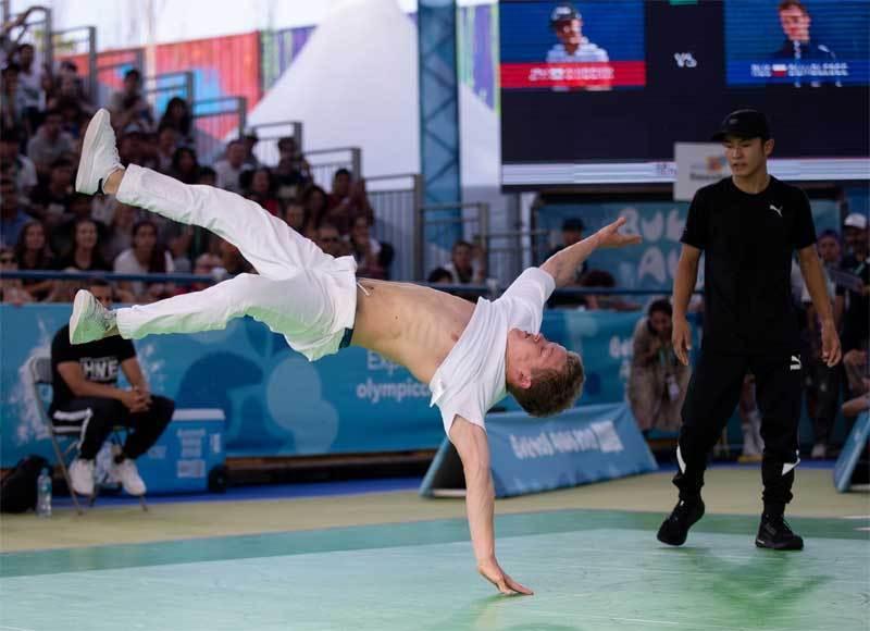 test Twitter Media - #Breakdancing #Breaking One 'Drop' Away From #Paris2024 Olympic Games @BreakingForGold @DanceSportTotal #134IOCSession https://t.co/bsSrZA8Ews https://t.co/AoJ86bVne1