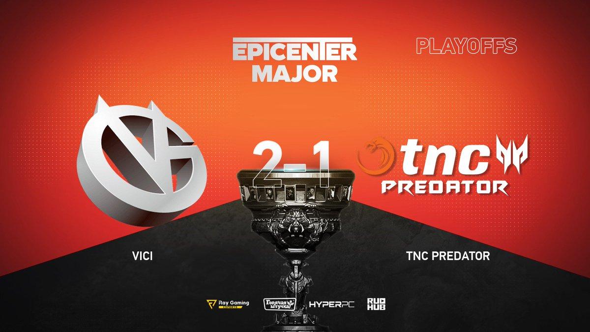 Vici Gaming vs TNC Predator