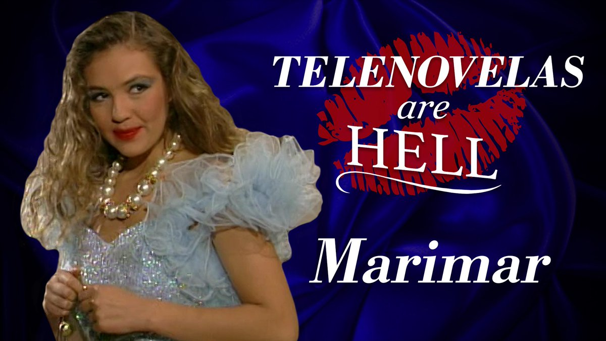 Marimar is a Telenovela so crazy, you'll probably need therapy after watching this: https://www.funnyordie.com/2019/6/27/18758709/telenovelas-are-hell-mexican-marimar-starring-thalia…