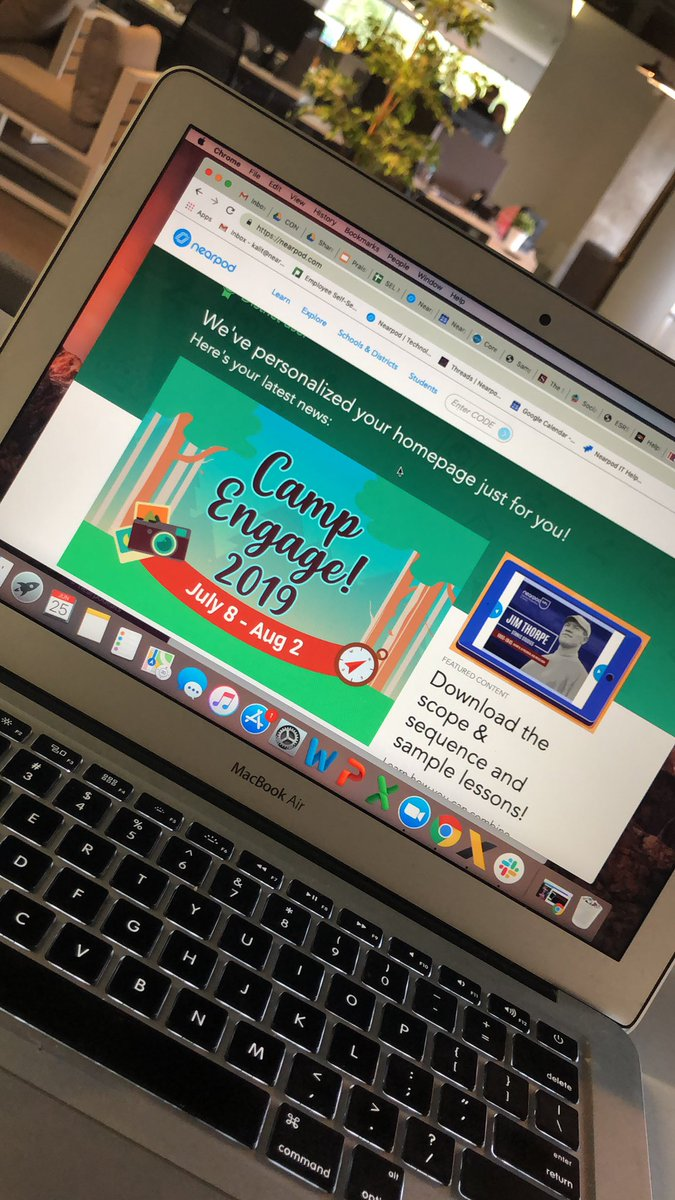 Also, #CampEngage who's joining?!? @nearpod