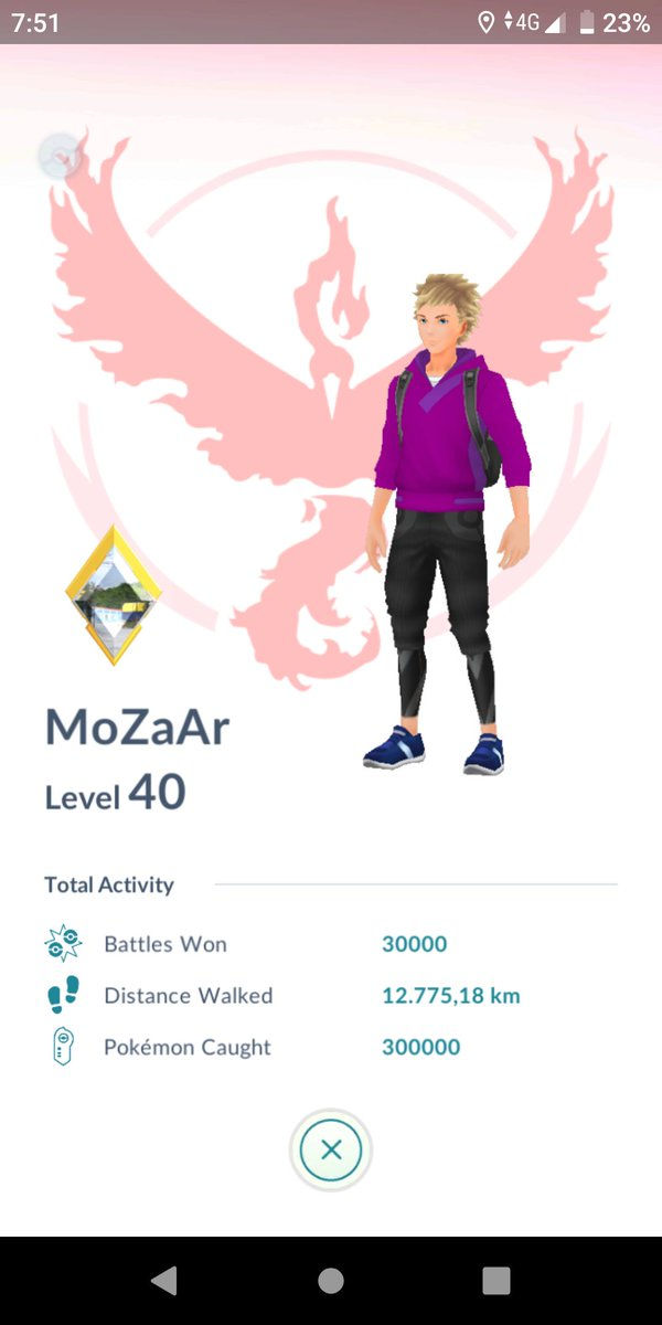 Hi Twitter   Since this is my first tweet, i wanted to post something special.  So, there you go:  300.000 manual catches in #PokemonGo <br>http://pic.twitter.com/8yyE2uN70G