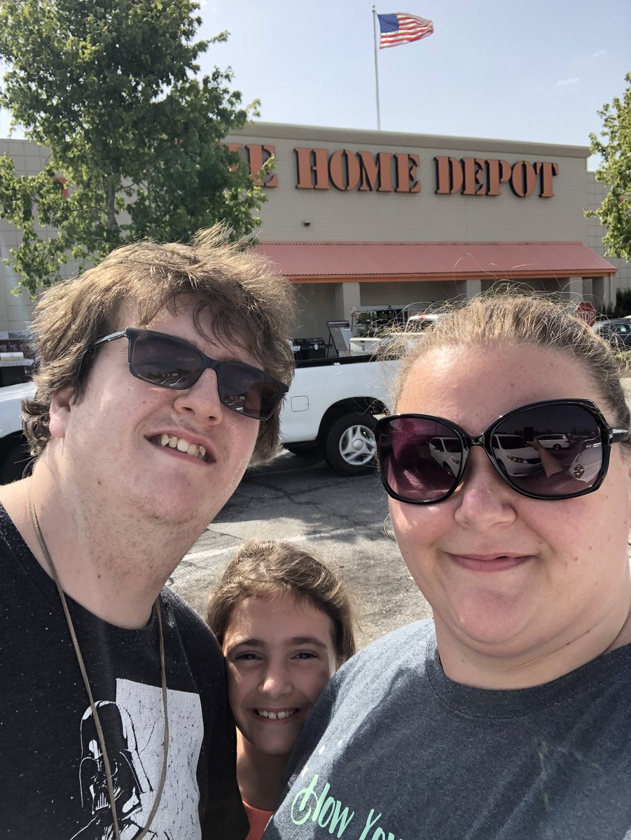 What do you do on vacation?  Visit other Home Depot stores of course!  😂😂.  #THD #Savannah #lovethecompanyiworkfor
