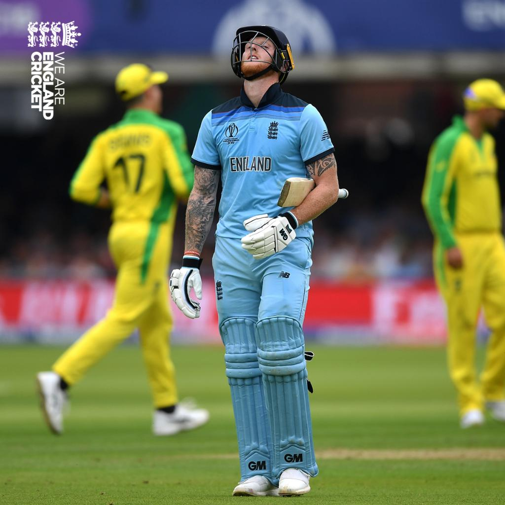 A tough day. Scorecard: http://ms.spr.ly/6014TKlcs #CWC19 #WeAreEngland #ExpressYourself
