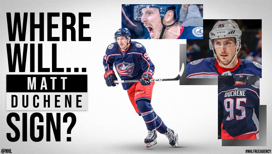 Forward @Matt9Duchene showed his talent during the #StanleyCup Playoffs, but what does this UFAs future hold? 🤔 #NHLFreeAgency