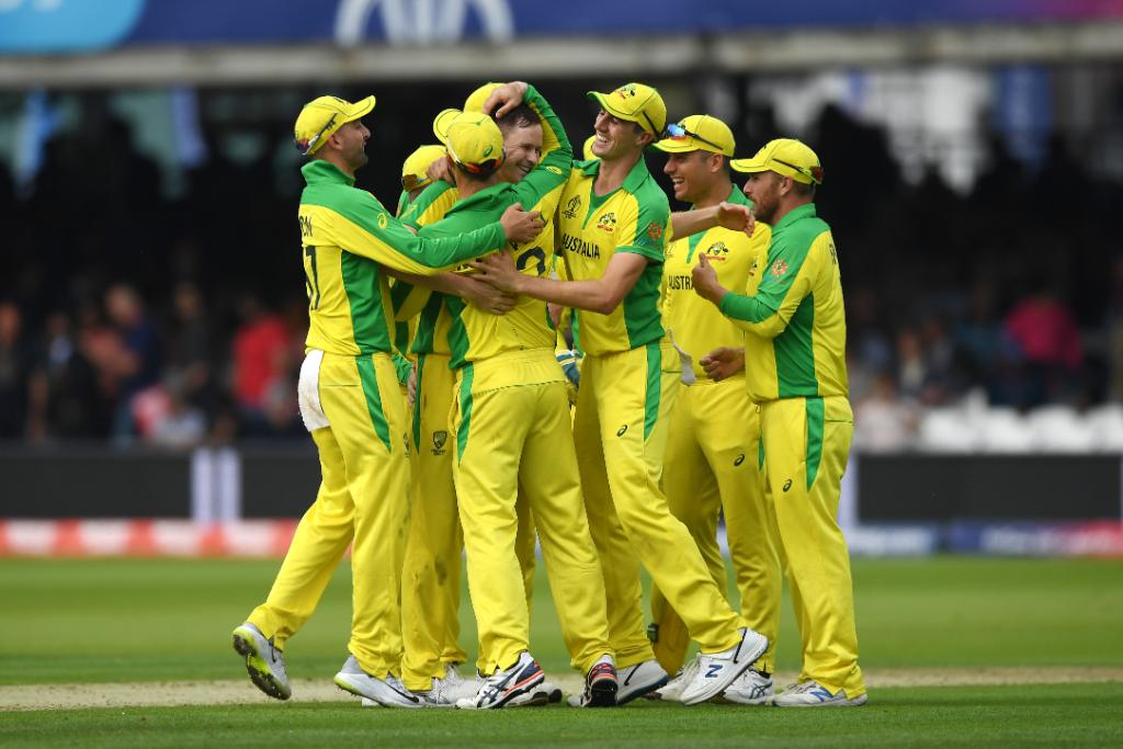🙌 Australia win by 64 runs 🙌#AaronFinch and Co. excel with both bat and ball as they beat England in their #CWC19 contest at Lord's. #CmonAussie