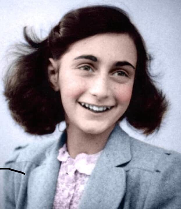 A reminder that Anne Frank didn't die in the gas chambers; she died of typhus, from the inhumane and unsanitary conditions in the camps.