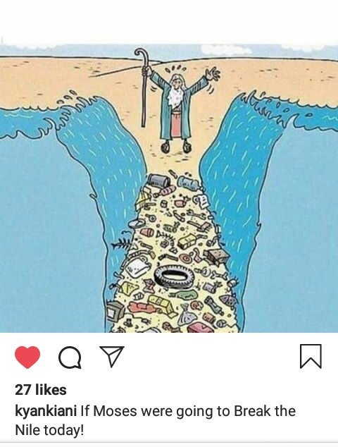 If Mosses were going to break the Nile today.🌊🌊...😢 #BeatWaterPollution #BeatPlasticPollution #GreenTechAssociation @eco_catherine @Saylfsayi @_Enthousiastes  @JimBair62221006  @EarthAccounting  @elizabeth_ruler  @TeshaG_21  @climate_earth